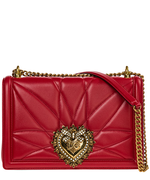 Crossbody bags Dolce&Gabbana Devotion bag BB6651AV96787124 rosso papavero