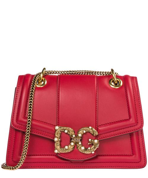 Borsa a spalla Dolce&Gabbana DG Amore BB6676AK29587124 rosso papavero