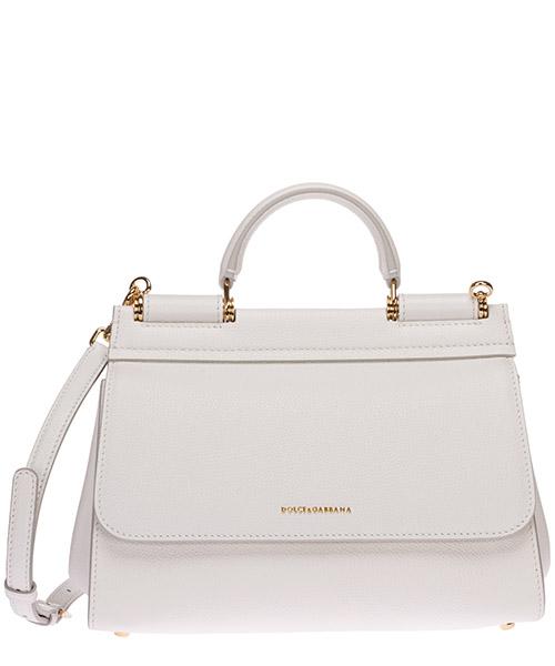 Sac à main Dolce&Gabbana sicily soft BB6755AA40980002 bianco