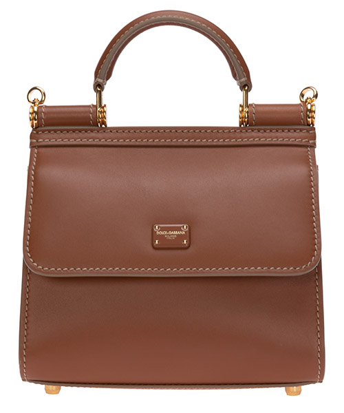 Handbags Dolce&Gabbana sicily 58 BB6846AV3858M308 marrone