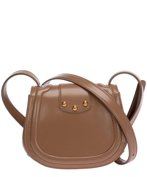 Women's leather cross-body messenger shoulder bag dg amore secondary image