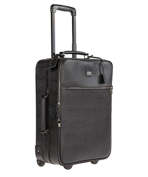 Trolley valigia uomo in pelle secondary image