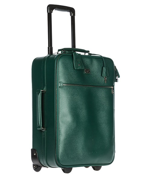 Trolley hombre maleta en piel secondary image