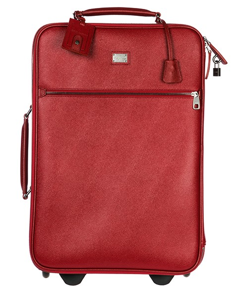 Trolley men's leather suitcase luggage