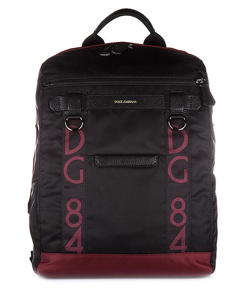 Zaino Dolce&Gabbana BM1415 AG319 89852 nero bordeaux