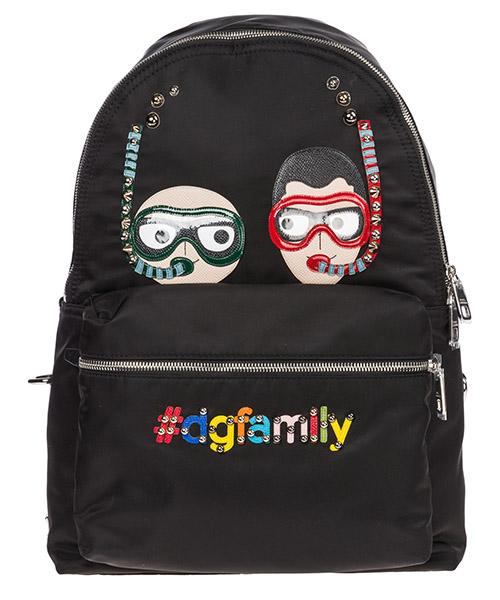 Zaino Dolce&Gabbana DG Family BM1419AU8008B956 nero