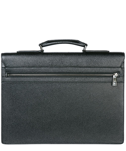 Briefcase attaché case laptop pc bag leather secondary image