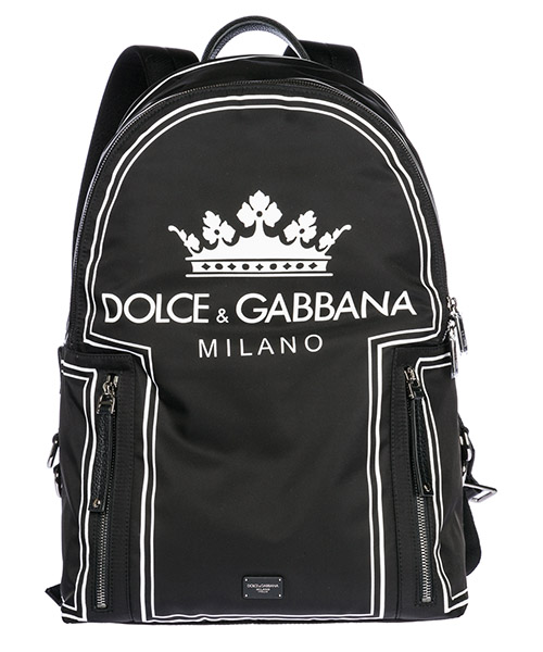 Backpack Dolce&Gabbana Vulcano BM1482AS658HNR18 nero