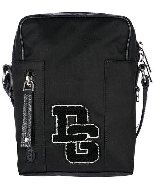 Borsa a tracolla Dolce&Gabbana Patch Logo BM1515AN4618B956 nero