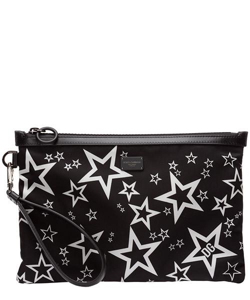 Document holder Dolce&Gabbana millennials star BM1769AJ610HN36C stelle fondo nero