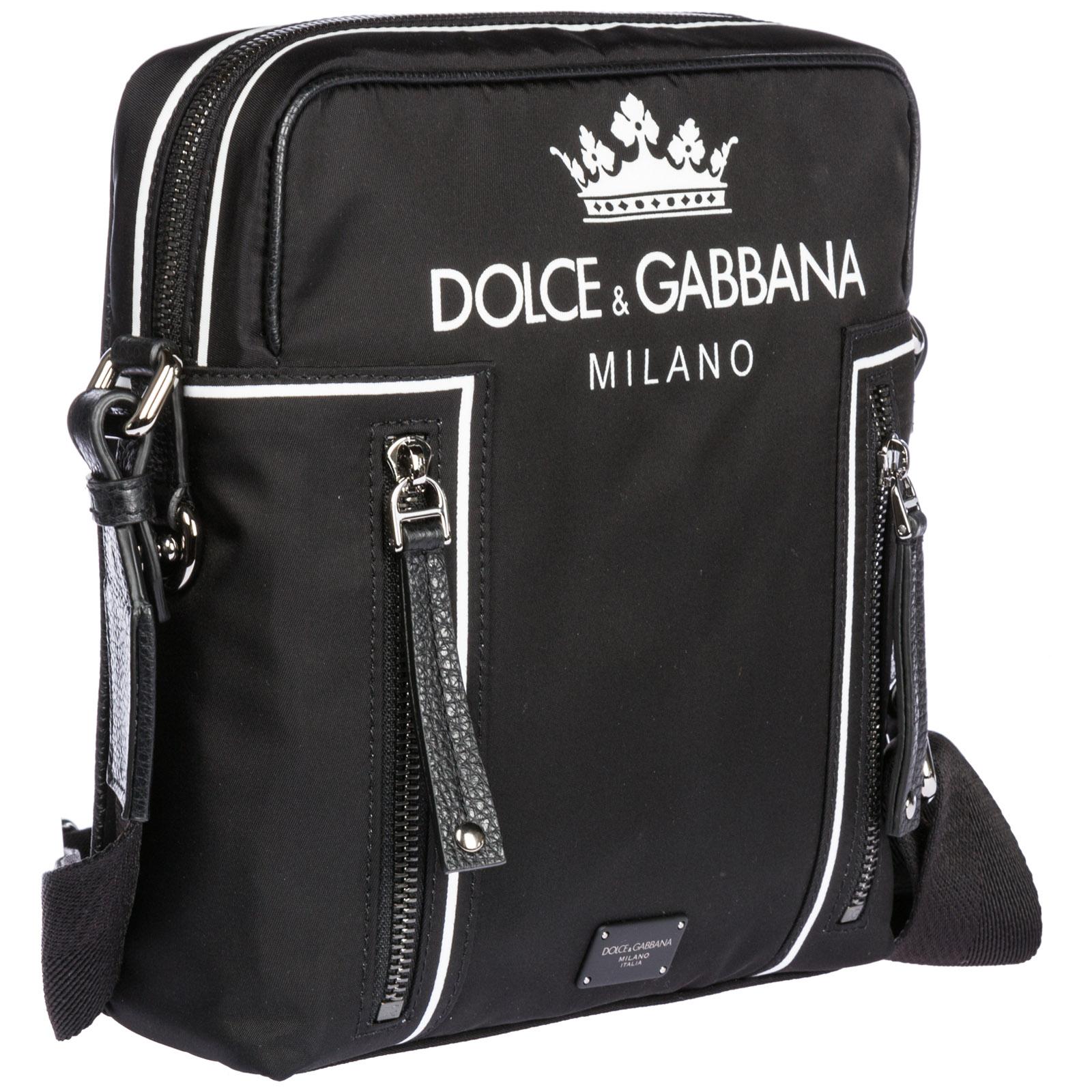 Borsa a tracolla Dolce Gabbana BM513AAS658HNR18 nero  c706e6078fb