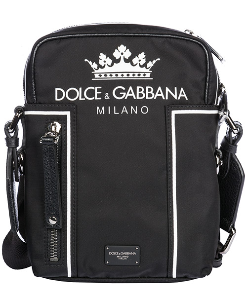 Sac bandoulière Dolce&Gabbana Vulcano BM515AAS658HNR18 nero