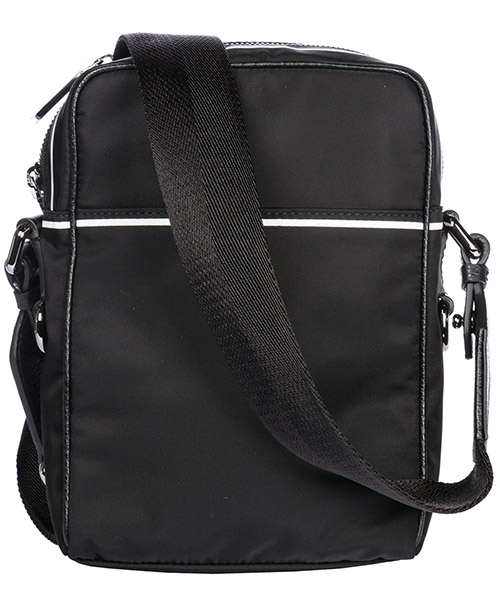 Men's nylon cross-body messenger shoulder bag vulcano secondary image