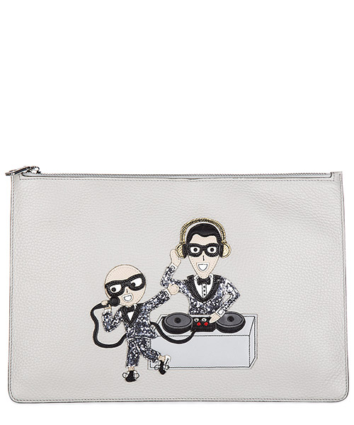 Document holder Dolce&Gabbana BP2182 AI153 80702 grigio perla