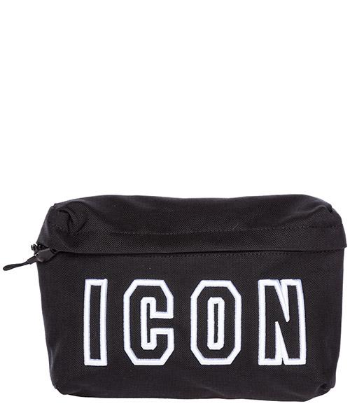 Поясные сумки Dsquared2 Icon BBM0004117011642124 nero
