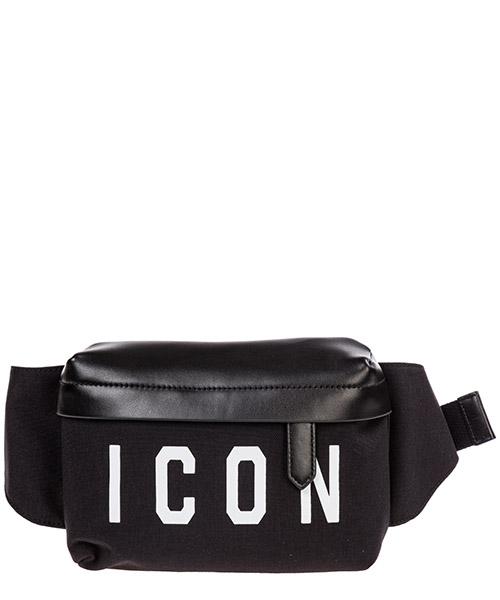 Bum bag Dsquared2 icon BBM001116802214M063 nero