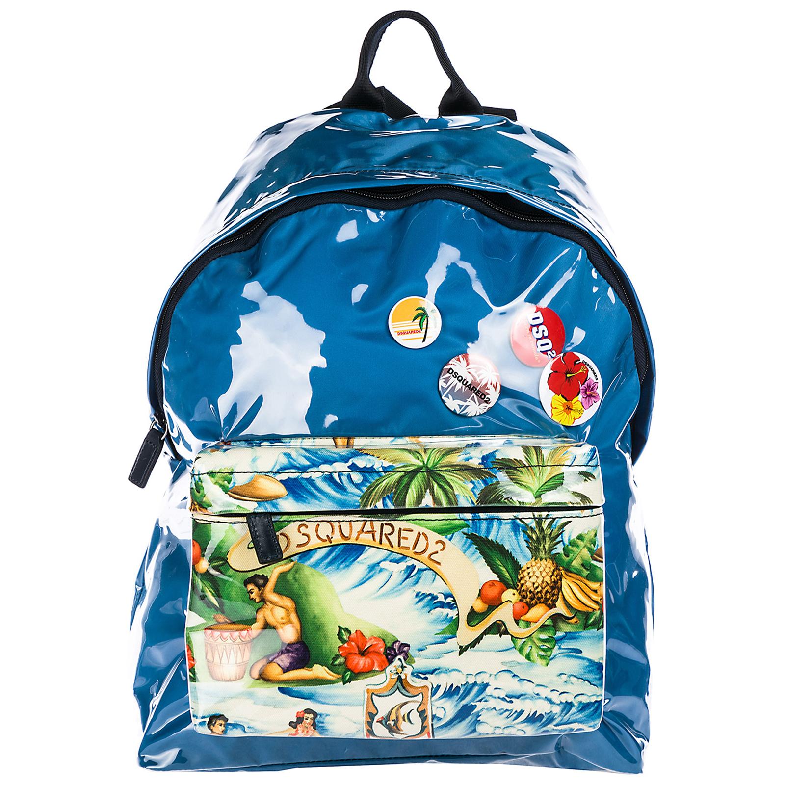 Nylon rucksack herren tasche laptop schulrucksack  hawaii