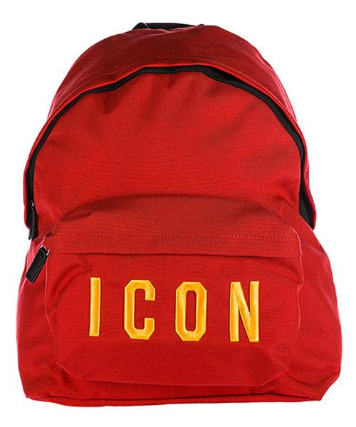 Rucksack Dsquared2 Icon BPM000411700396M1390 rosso - ocra