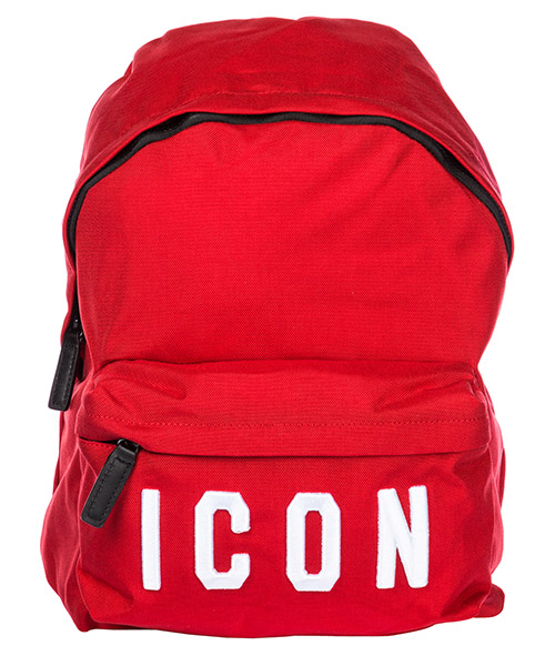 Rucksack Dsquared2 Icon BPM000411700396M818 rosso + bianco