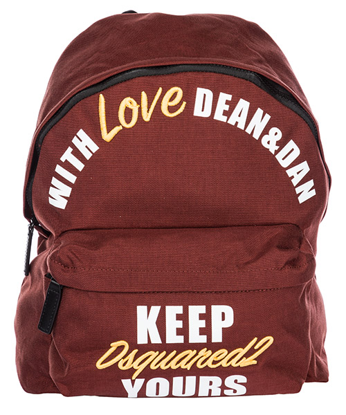 Rucksack Dsquared2 BPM0004117011194066 bordeaux