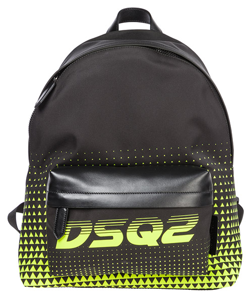 Backpack Dsquared2 bionic sport BPM001611701790M778 nero + giallo fluo