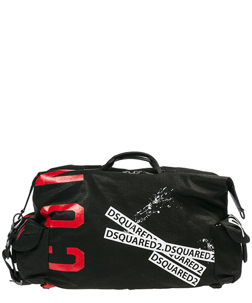 Sac de voyage Dsquared2 Icon DFM0014101016632124 nero