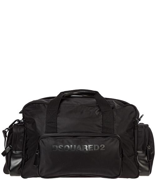 Duffle bag Dsquared2 dfm001911702174m436 nero