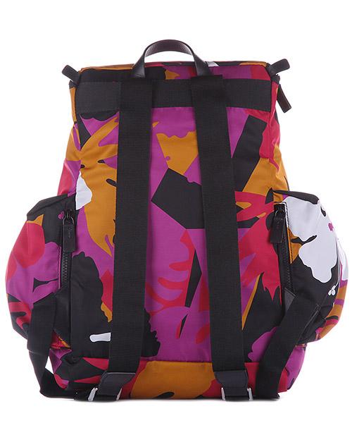 Men's nylon rucksack backpack travel  hero flower secondary image