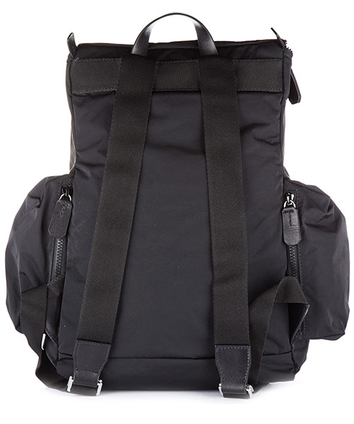 Men's nylon rucksack backpack travel  hiro secondary image
