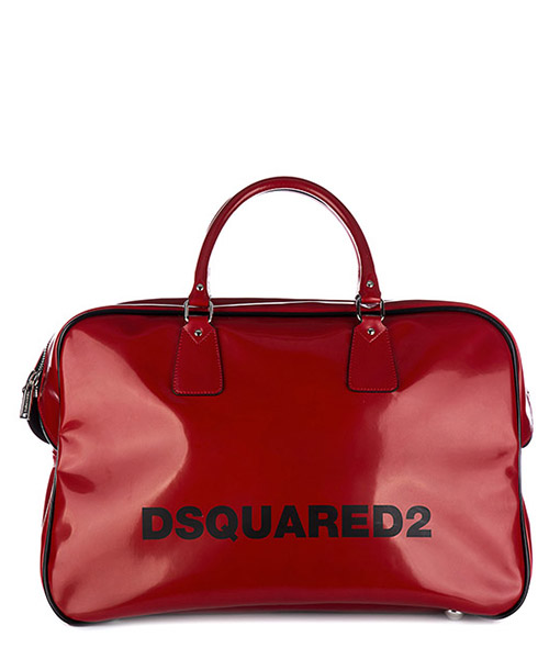 Duffle bag Dsquared2 S17DF1089 1250 4065 rosso