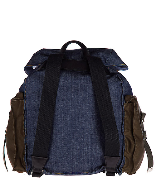 Men's rucksack backpack travel  military chic secondary image