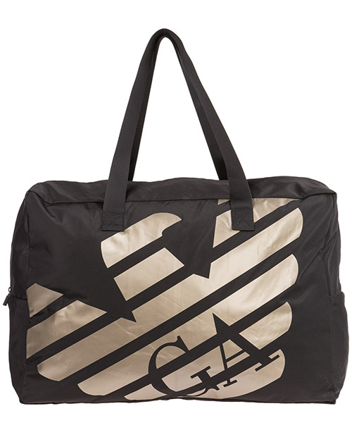 Gym bag Emporio Armani 2118149P47000020 nero