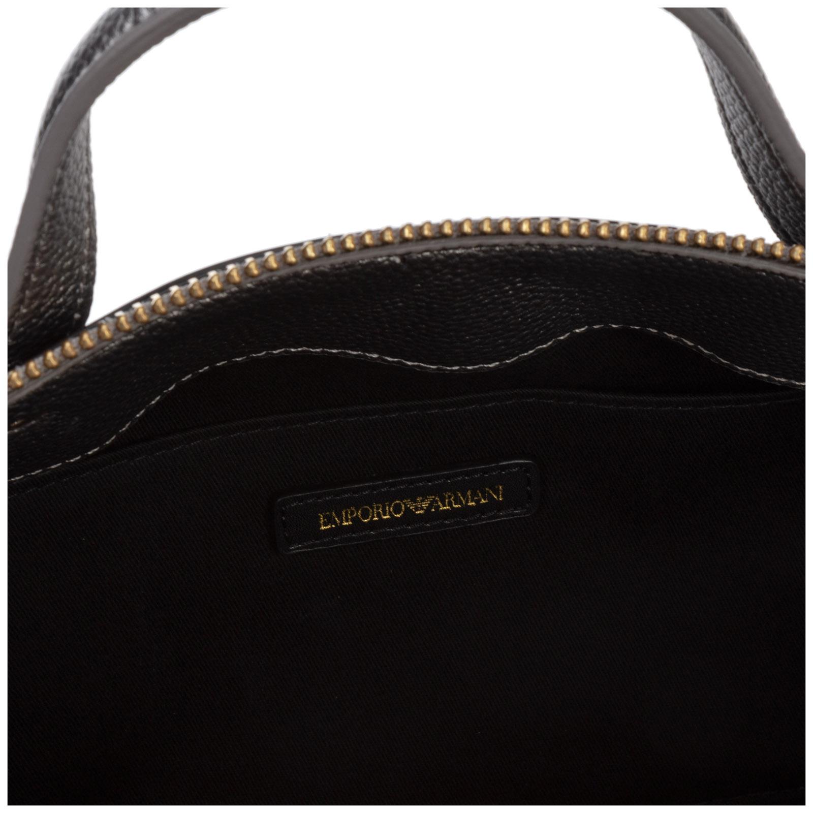 armani leather purse