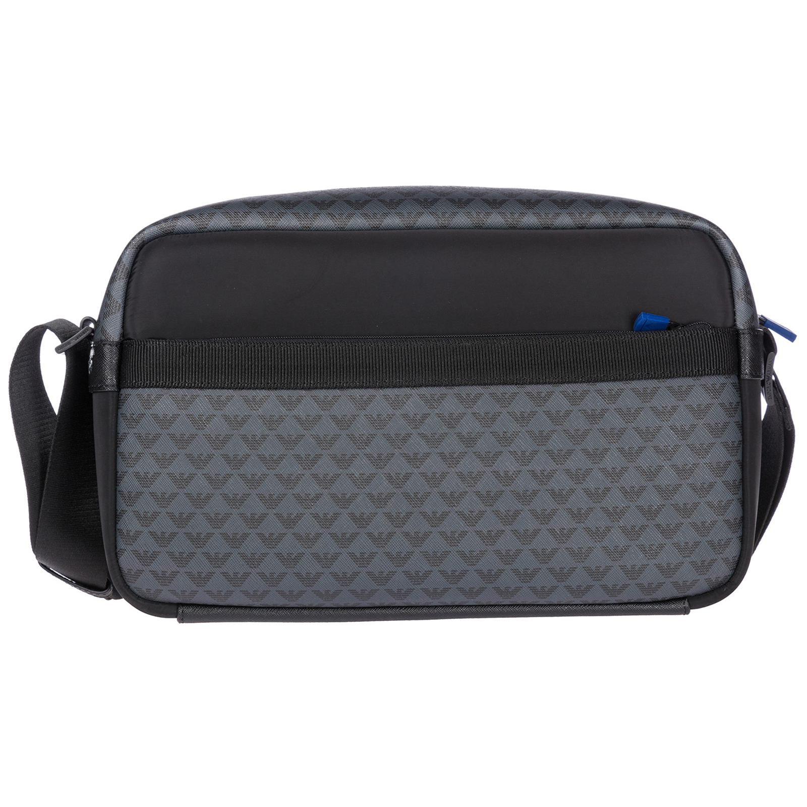 2a803b4e56a1 Emporio Armani Men S Cross-Body Messenger Shoulder Bag In Black ...