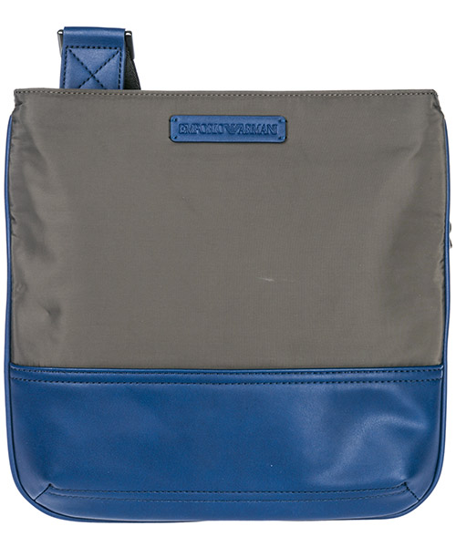 Crossbody bag Emporio Armani Y4M203YMA9J83189 grey / blue