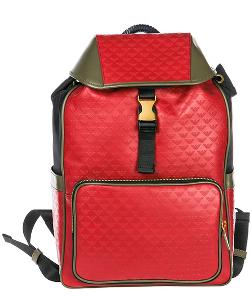 Rucksack Emporio Armani Y4O174YMD6T83195 red / military