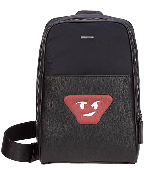 Crossbody bags Emporio Armani y4o218ymp0j83194 navy / black