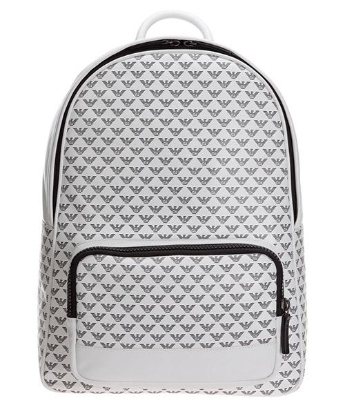 Backpack Emporio Armani Y4O250YTO2J84715 white / black