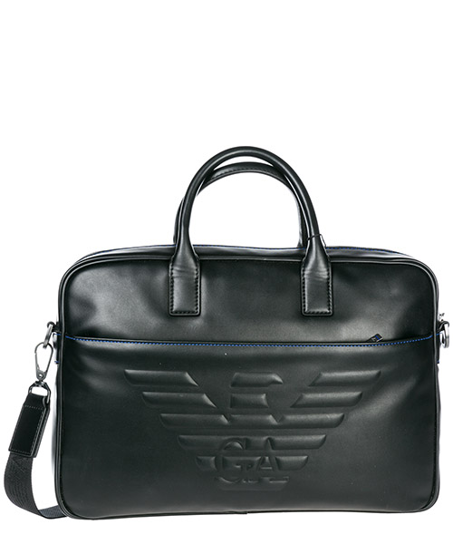 Briefcase Emporio Armani Y4P090YG90J81072 black
