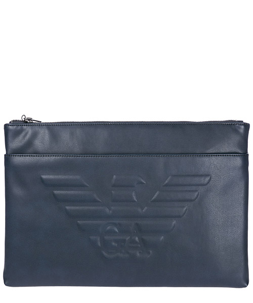 Document holder Emporio Armani Y4P094YG90J80033 navy blue