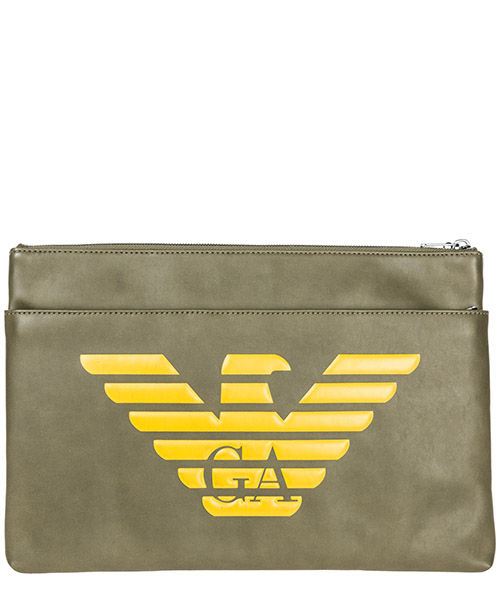 Document holder Emporio Armani Y4P094YG90J83196 military