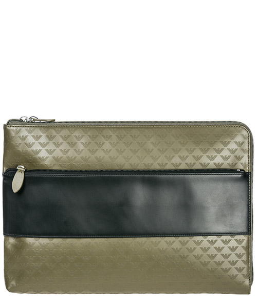 Document holder Emporio Armani Y4P095YC04381124 military / black