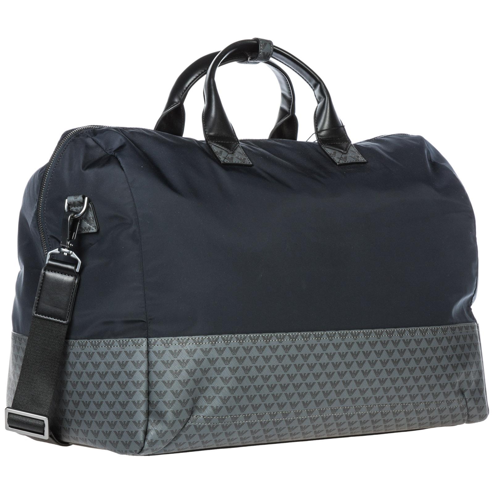 Duffle bag Emporio Armani Y4Q089YME4J83194 navy   black  e4323f8425142