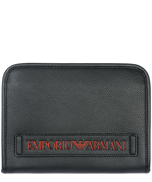 Document holder Emporio Armani Y4R208YG89J83191 black