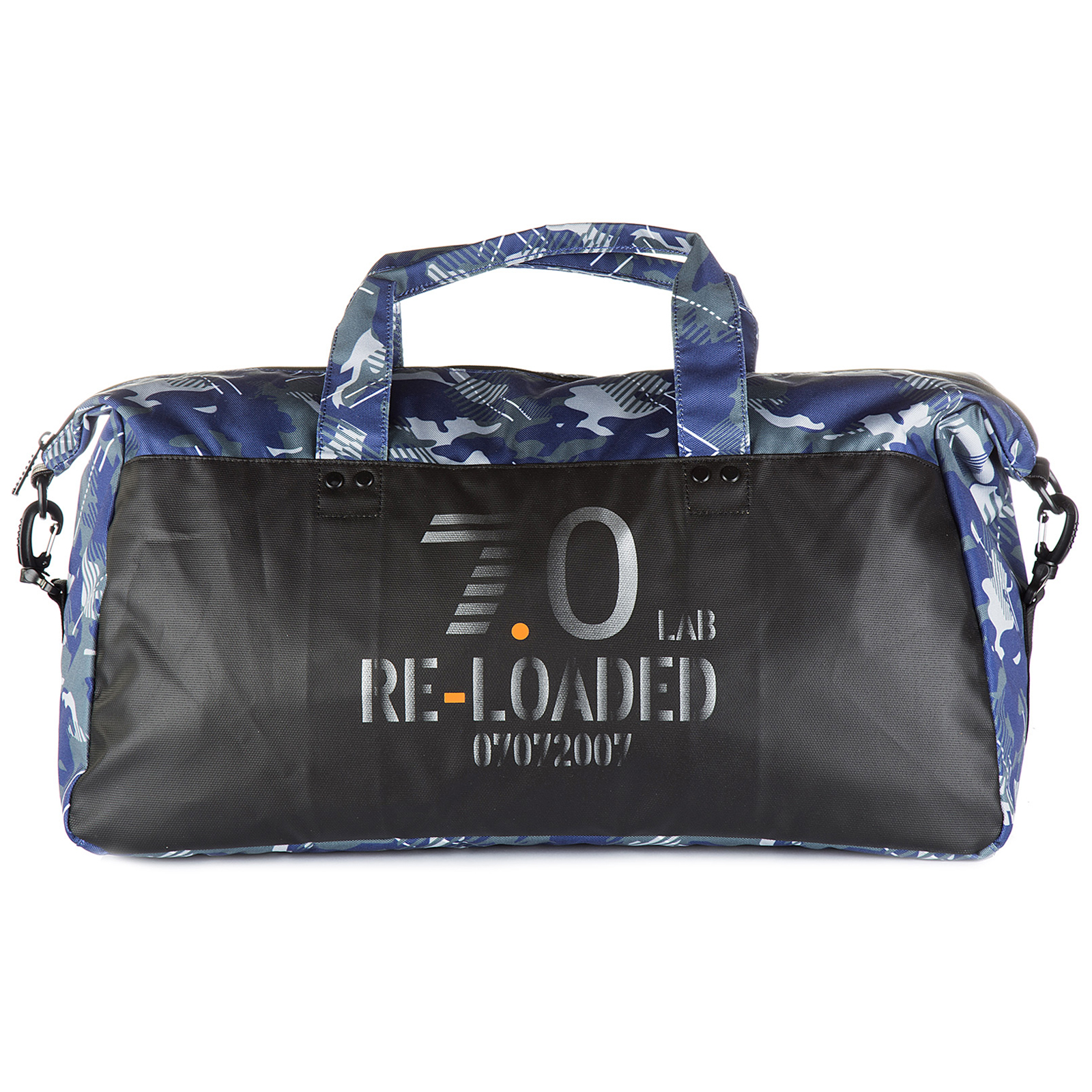 b4cfc37e19f0 Gym bag Emporio Armani EA7 275684 7P804 21435 printed blue