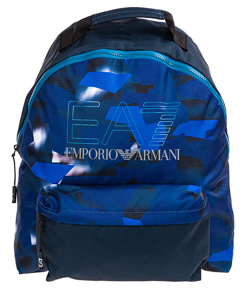 Backpack Emporio Armani EA7 2758469P80158835 graphic blue