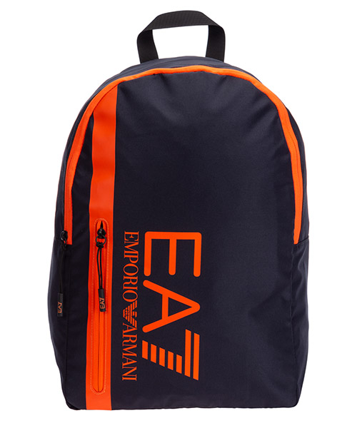 Rucksack Emporio Armani EA7 275974cc98209239 night blue - orange fluo
