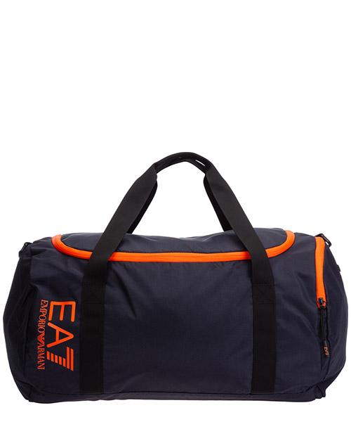 Sporttasche Emporio Armani EA7 275978cc98009239 night blue - orange fluo