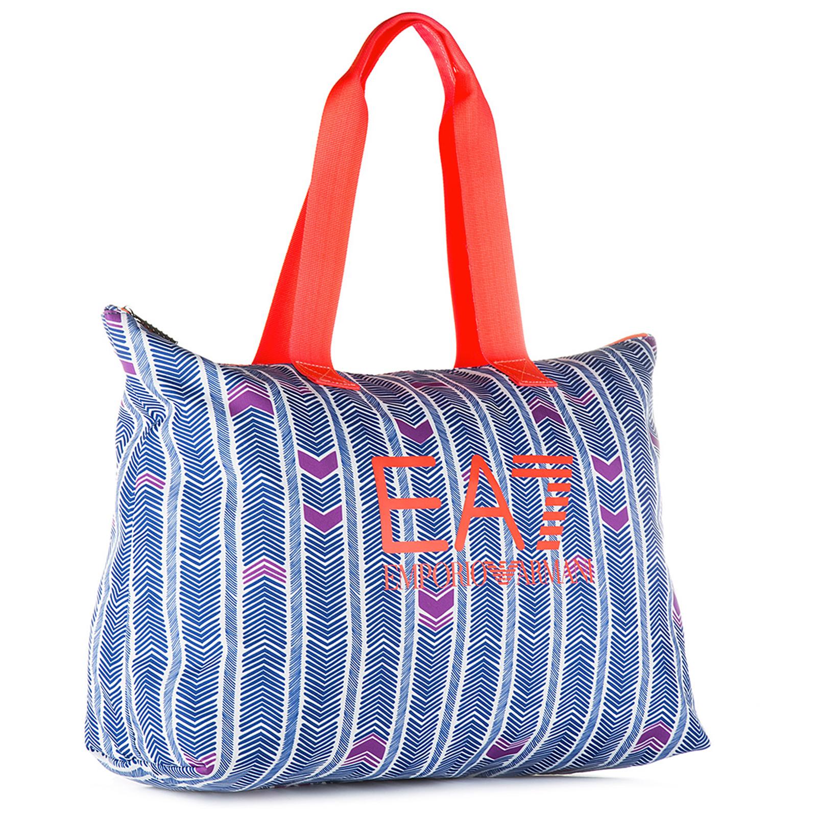 Bolso de mano para compras en nylon mujer train graphic