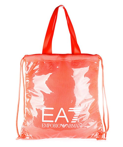 Beach bag Emporio Armani EA7 915006 7P827 10874 fluo red